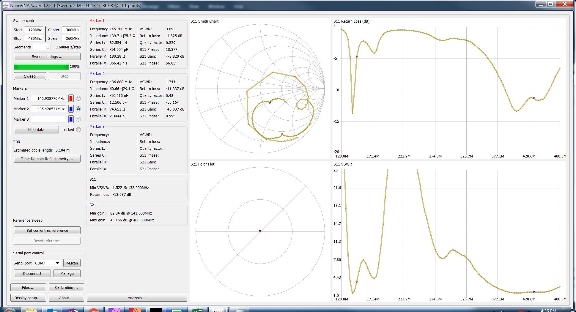 Baofeng UV-82 VNA Antenna Test